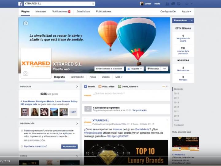 Crear campañas publicitarias en Facebook