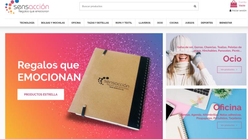 Regalos promocionales: sensaccion.es